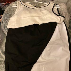 BR Skirt Black& White